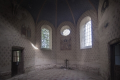 Cerkiew wStarych Oleszycach. Prezbiterium.