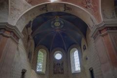 Prezbiterium. Cerkiew wStarych Oleszycach.