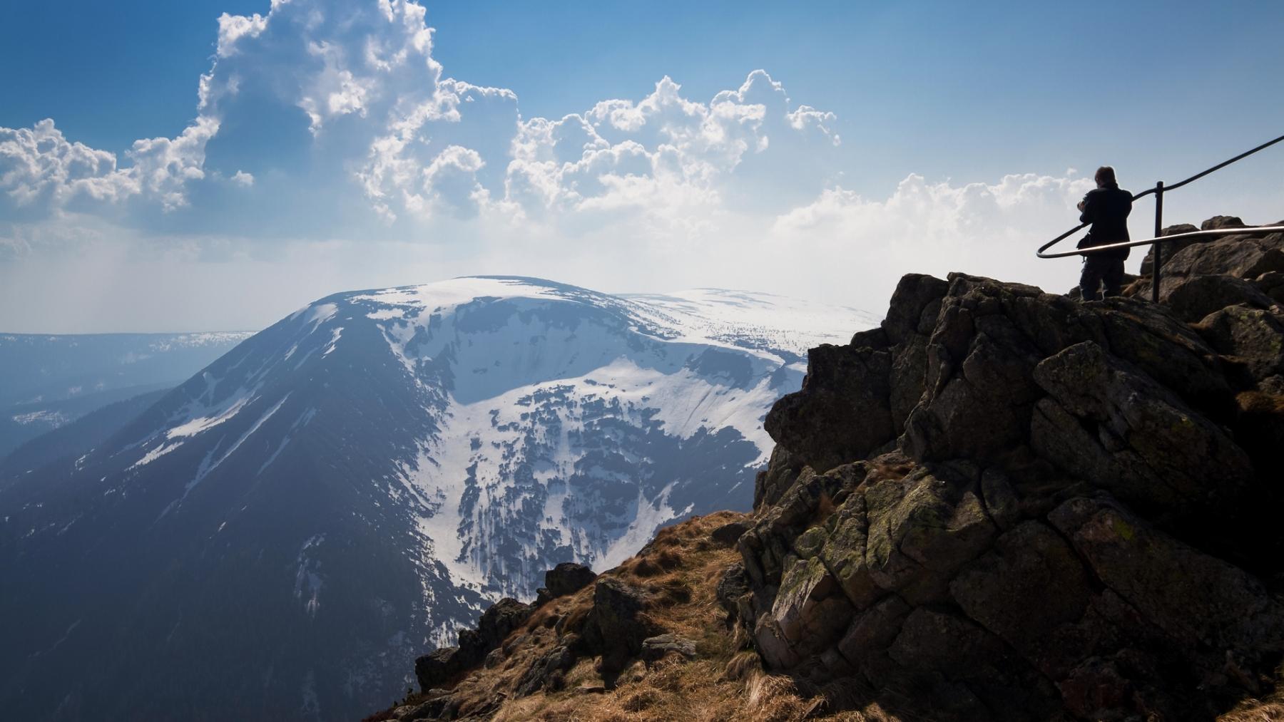 Z drogi na Śnieżkę - Studniční hora