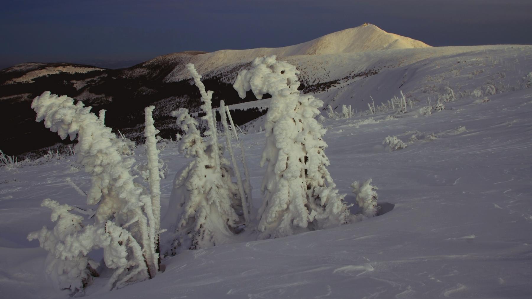 Zimowe Karkonosze fot. Krzysztof Romańczukiewicz