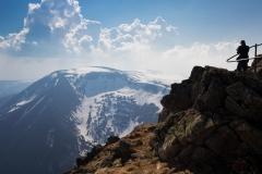 Z drogi naŚnieżkę - Studniční hora
