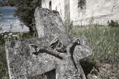 Ruiny cerkwi idawny cmentarz - Huta Różaniecka