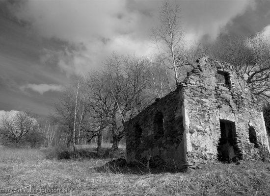 Wymarła górska osada - Krowiarki