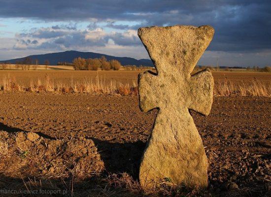 Krzyż pojednania - Dolny Śląsk , okolice Goli Świdnickiej
