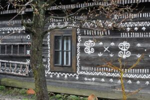 Malowana wioska, Słowacja