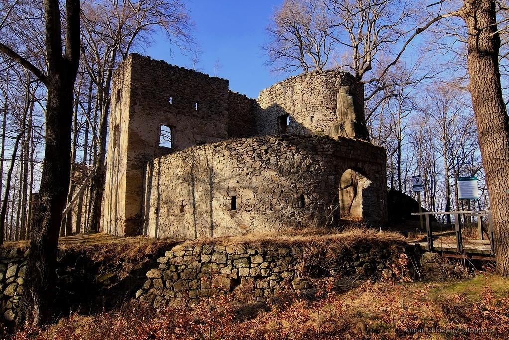Zamek Bolczów wRudawach Janowickich