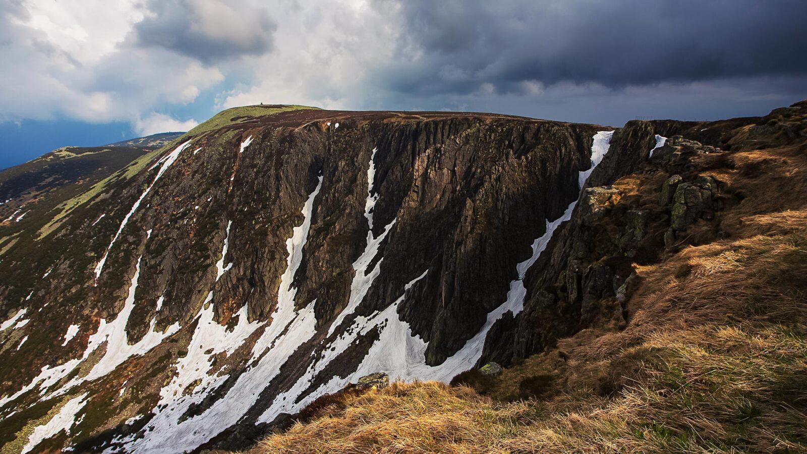 Wielki Śnieżny Kocioł jesienią