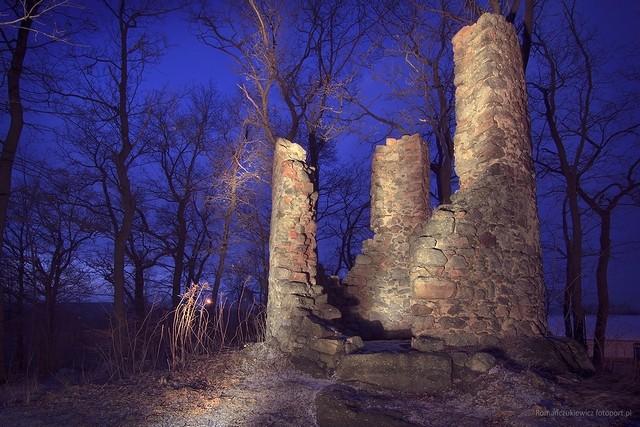 Ruiny szubienicy naStraconce, Miłków - Pogórze Karkonoskie