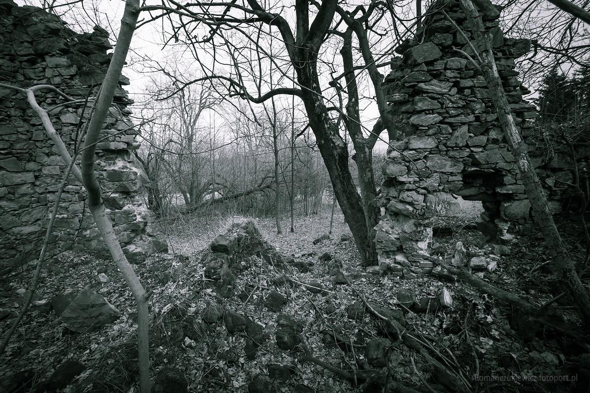 Gospoda Kreuzschänke - ruiny