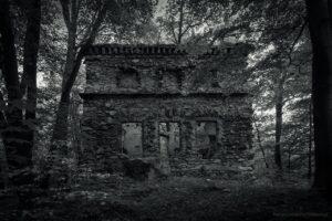 Radziwiłłówka - ruiny zameczku myśliwskiego z XVIII wieku