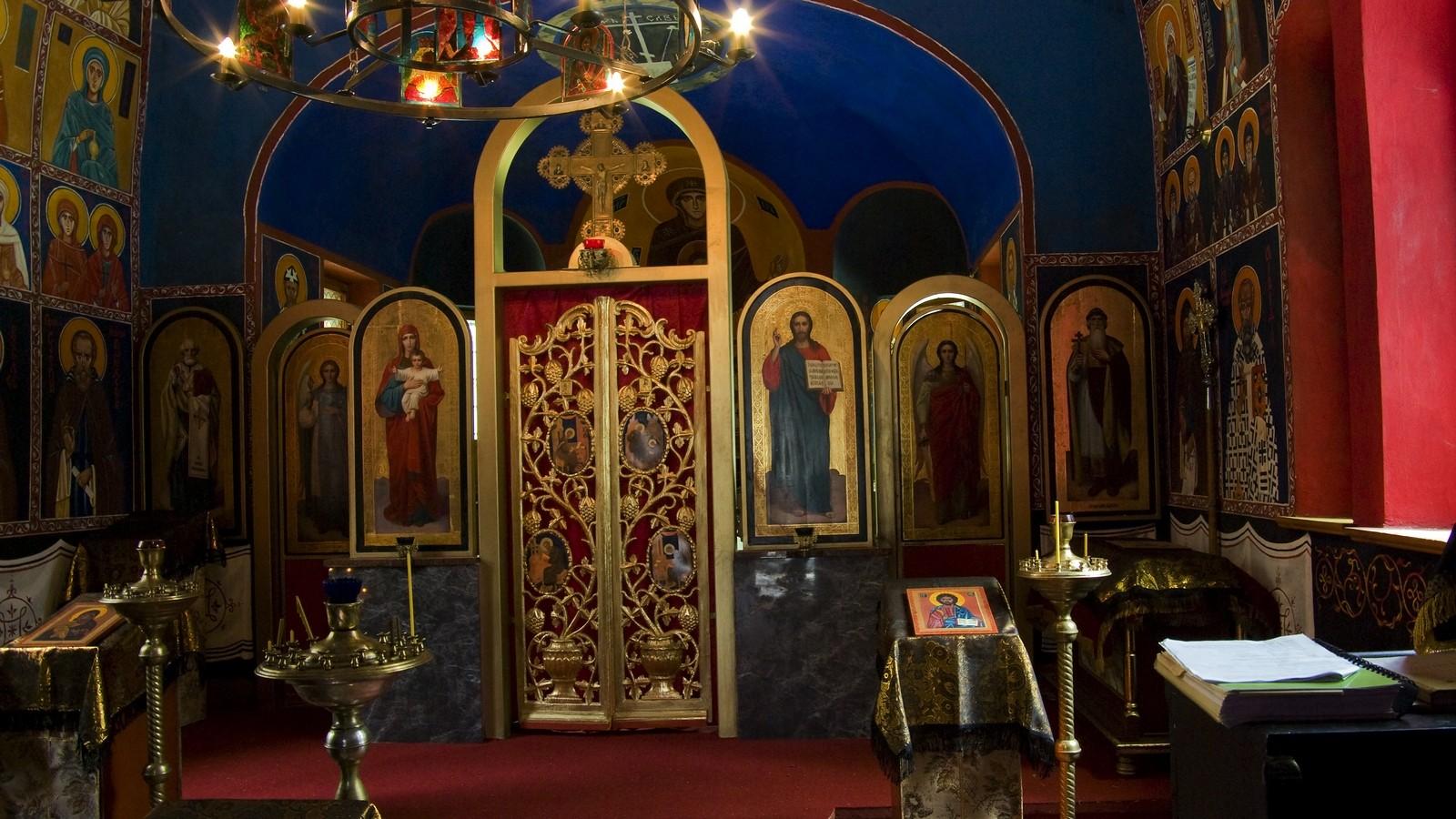 Sokołowsko wGórach Suchych - wnętrze XIX- wiecznej cerkwi
