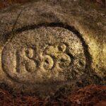 Kamienie wiekowe wkarkonoszach 1853