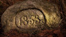 Kamienie wiekowe w karkonoszach 1853