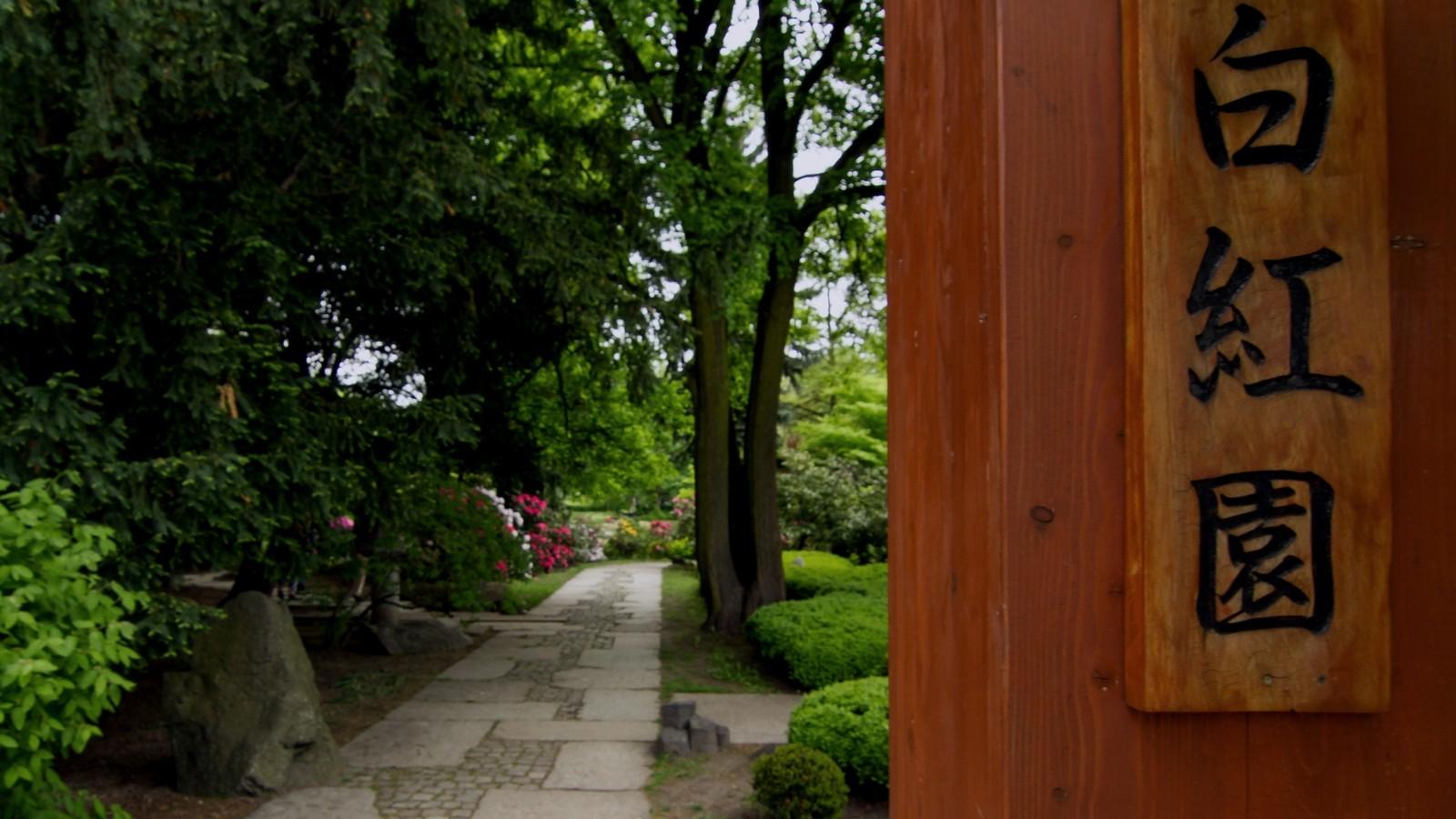 Ogród Japoński weWrocławiu