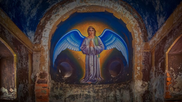 Anioł Stróż zkalwarii naŚwiętej Górze
