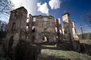 Owiesno, ruiny zamku