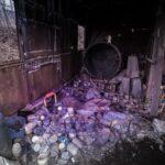 Wnętrze opuszczonych Zakładów R-1 w Kowarach