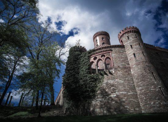 Mury pałacu Marianny Orańskiej fot.Krzysztof Romańczukiewicz
