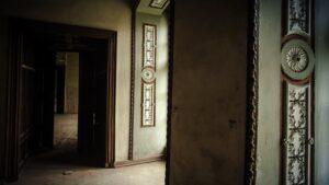 Bożków , pałac , wnętrze