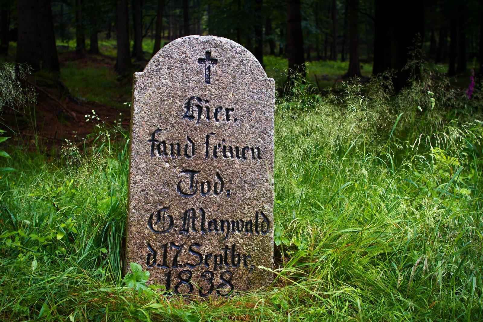 1838 pomnik lesniczego Maywalda