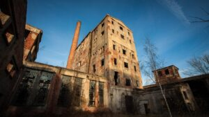 Dawna fabryka celulozy wMalczycach