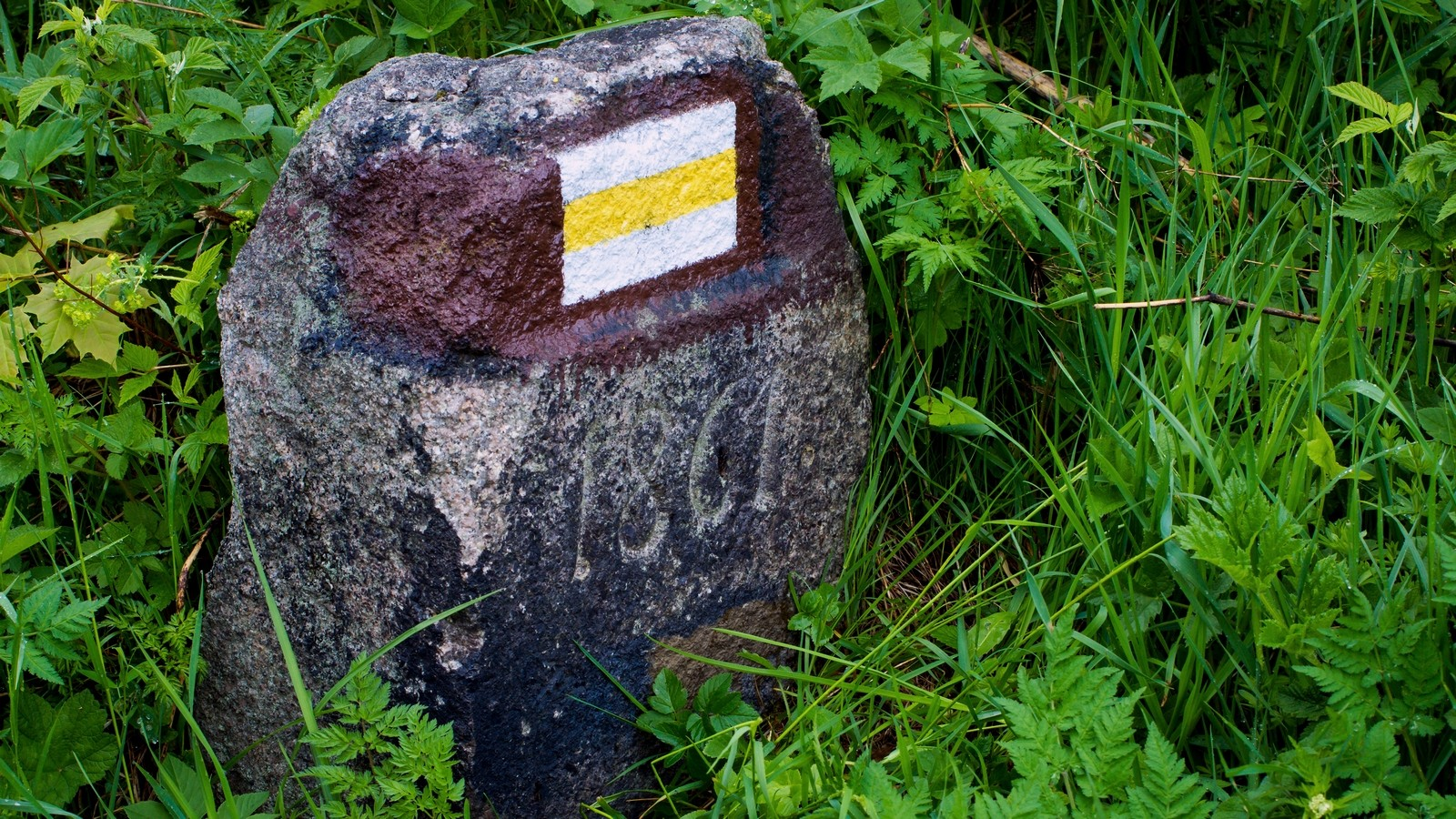 Kamień naDrodze Głodu zdatą 1861