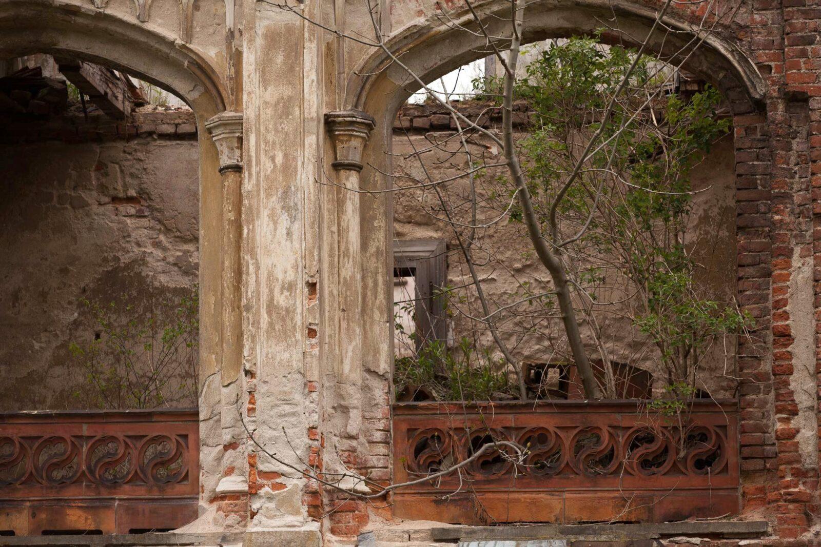 Pałacw Stoszycach (ruina)