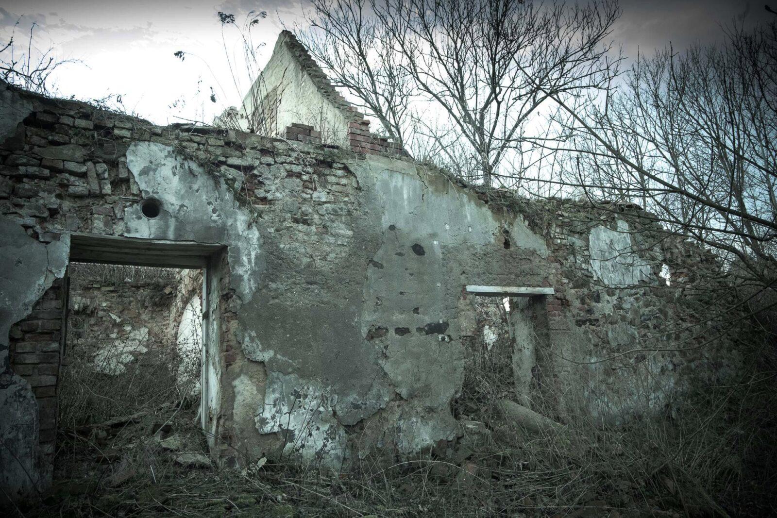 Tu już nikt niemieszka - dom wP.