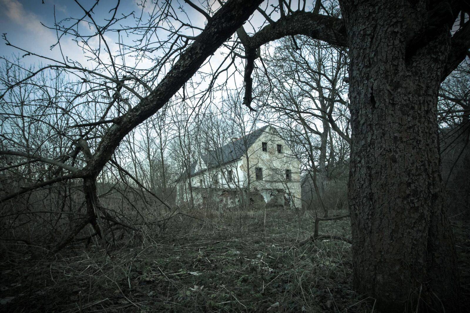 Opuszczony dom wgórach