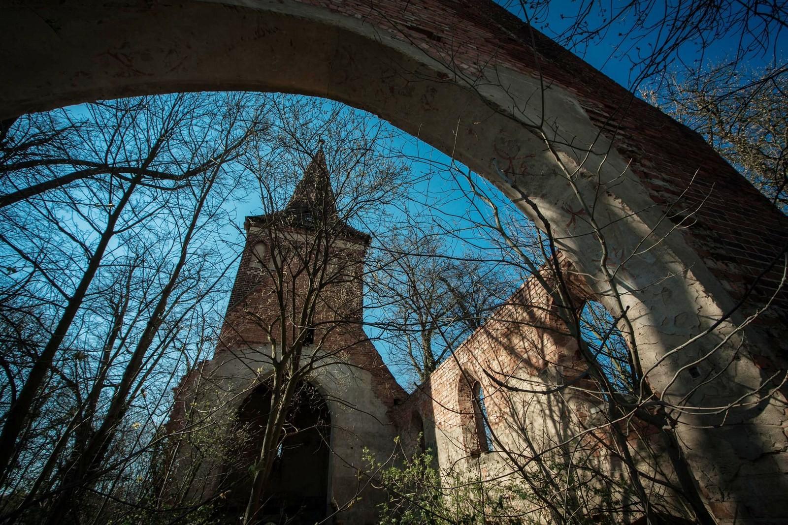 Powidzko - dawny kościół