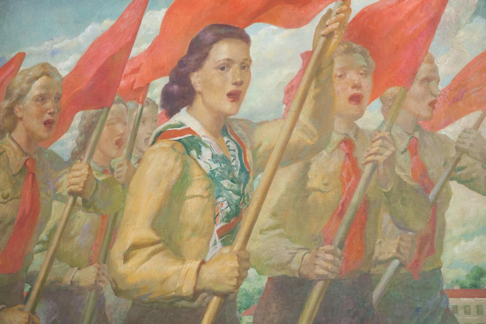 Galeria Sztuki Socrealizmu wKozłowce.