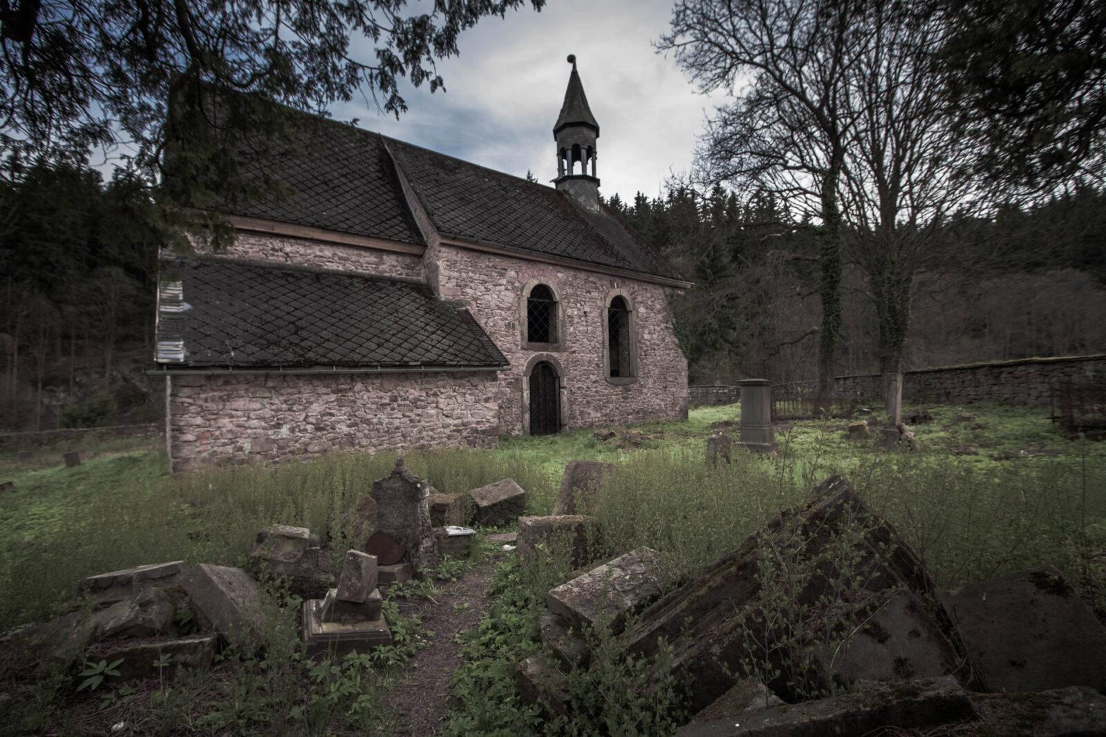 Dawny kościół św.Michała Archanioła Okrzeszyn