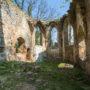 Ruina kościoła wMiechowicach Oławskich